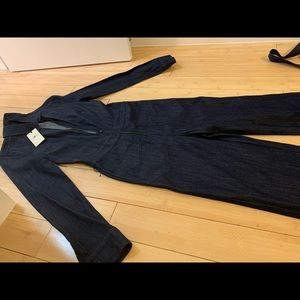 7 for all mankind denim jumpsuit, New with tags